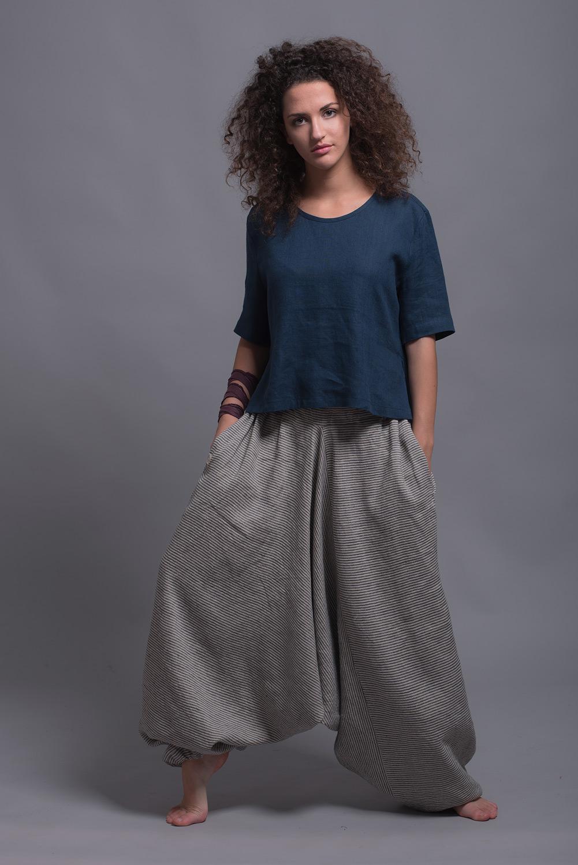 Полосатые штаны афганиNOAH