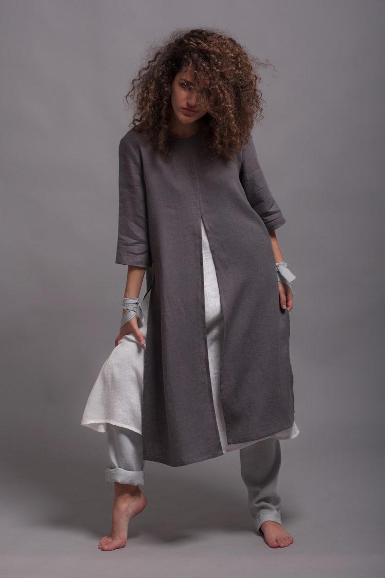 Flax Tunic Dress AYA