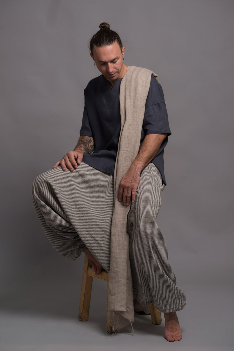 Men's Striped Harem Pants NOAH