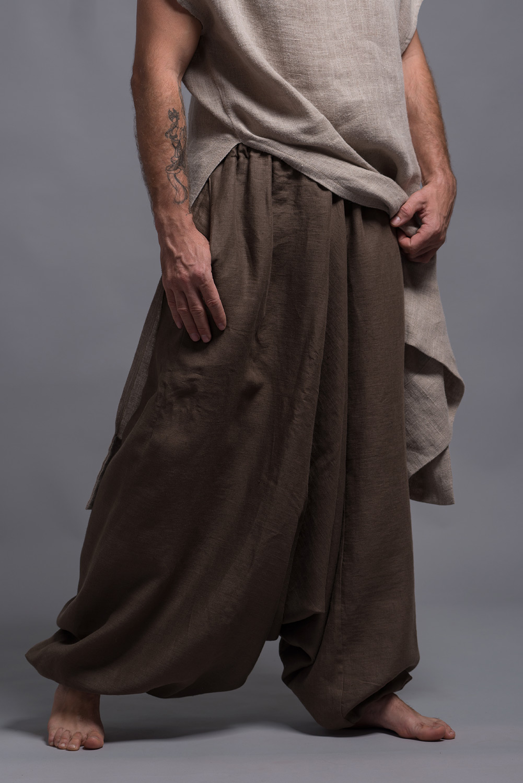 Коричневые штаны афгани NOAH