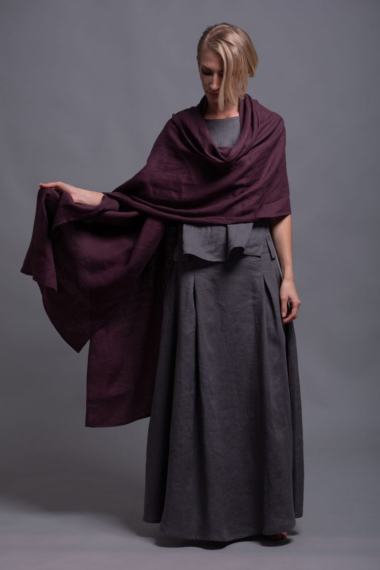 Linen Shawl Wrap