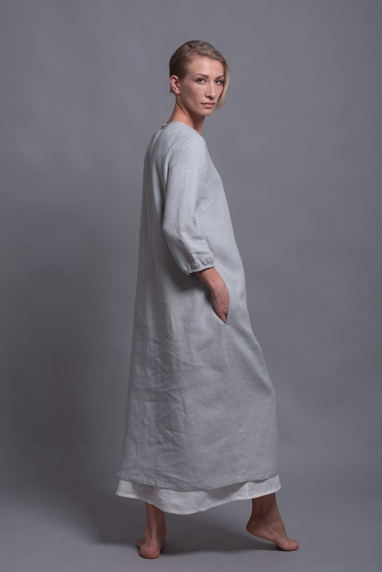shift linen dress NIKA