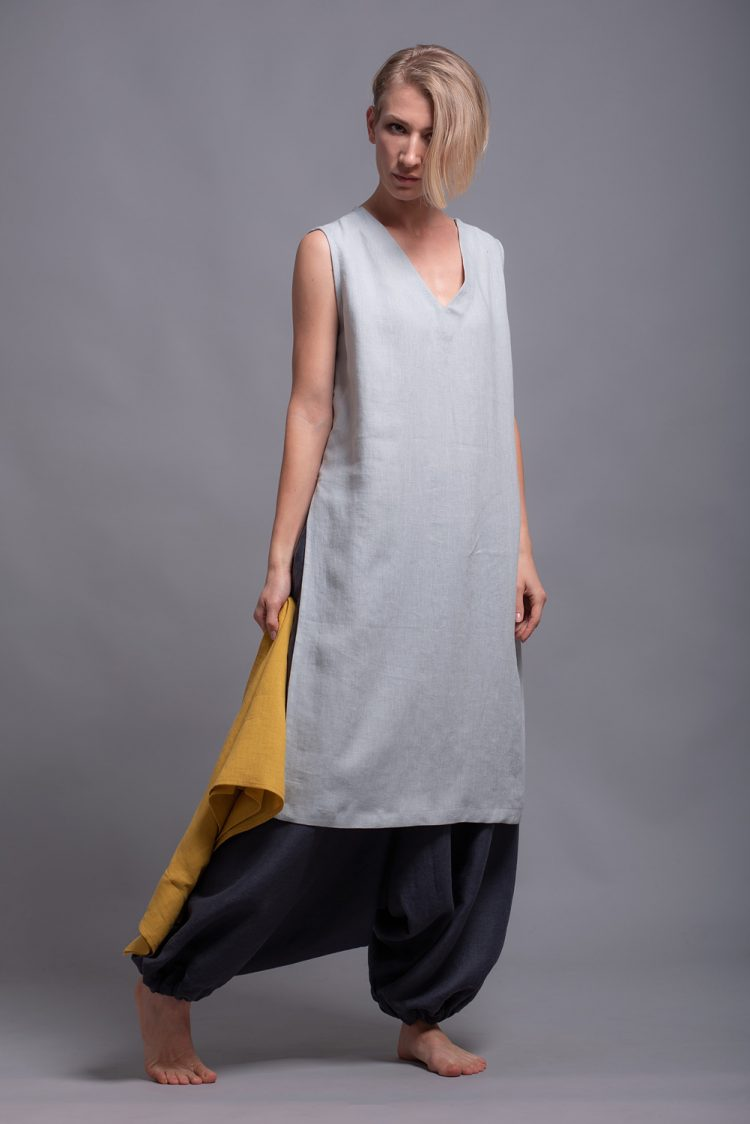 flax linen tunic KENI