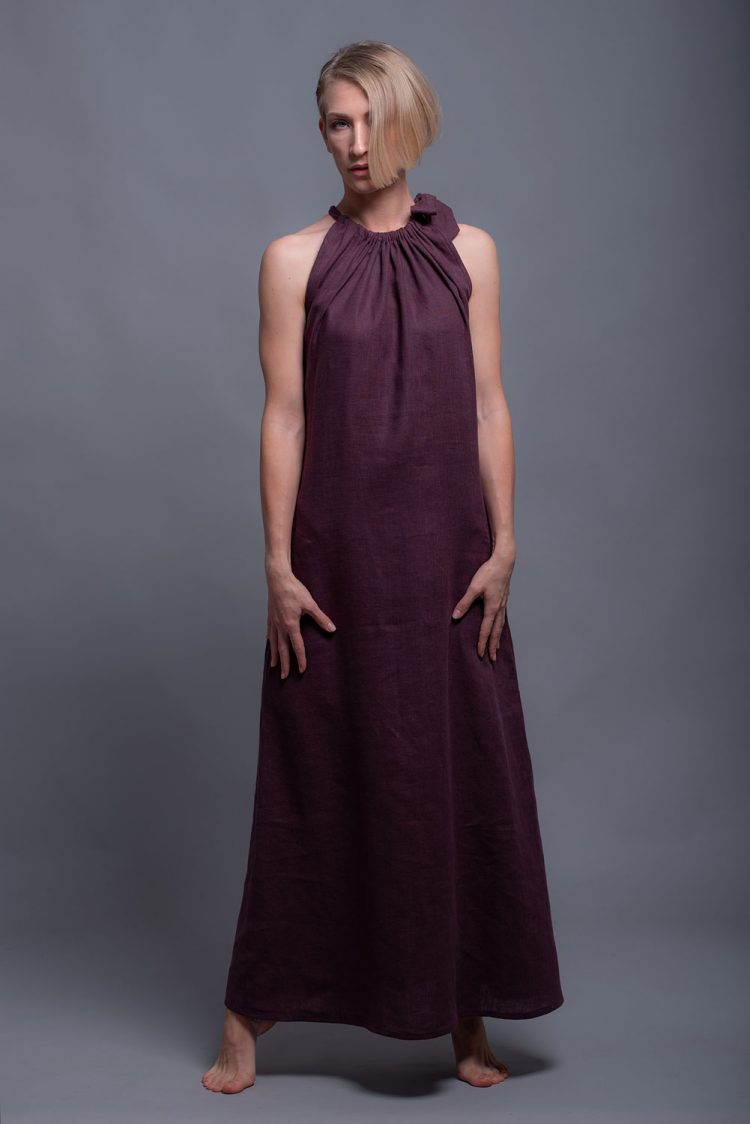 Soft Linen Summer Dress TAYA