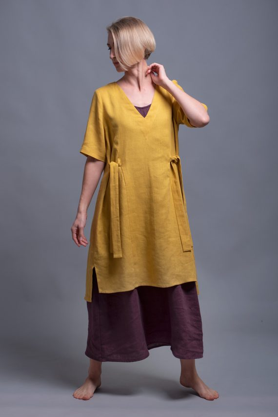 Linen Tunic Dress ELLA