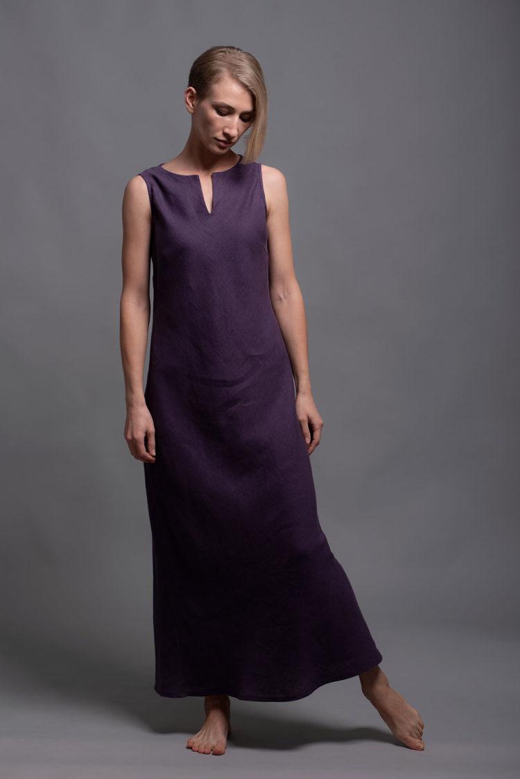 Bias Cut Linen Dress ALICE