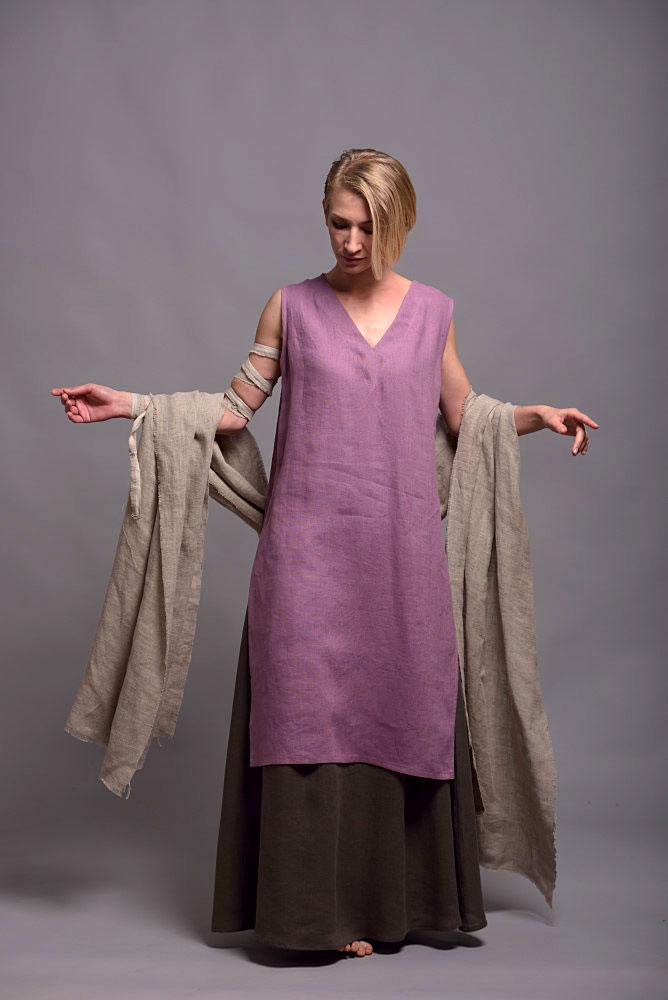 summer linen tunic KENI