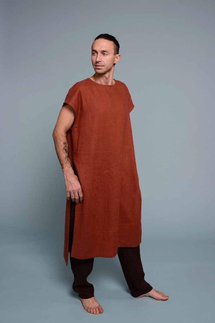 linen men's tunic SANGA
