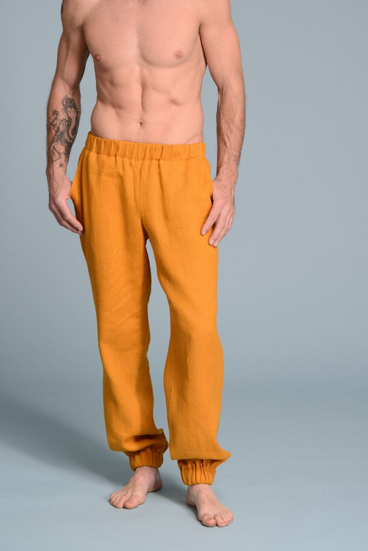 Men's linen pants TEO