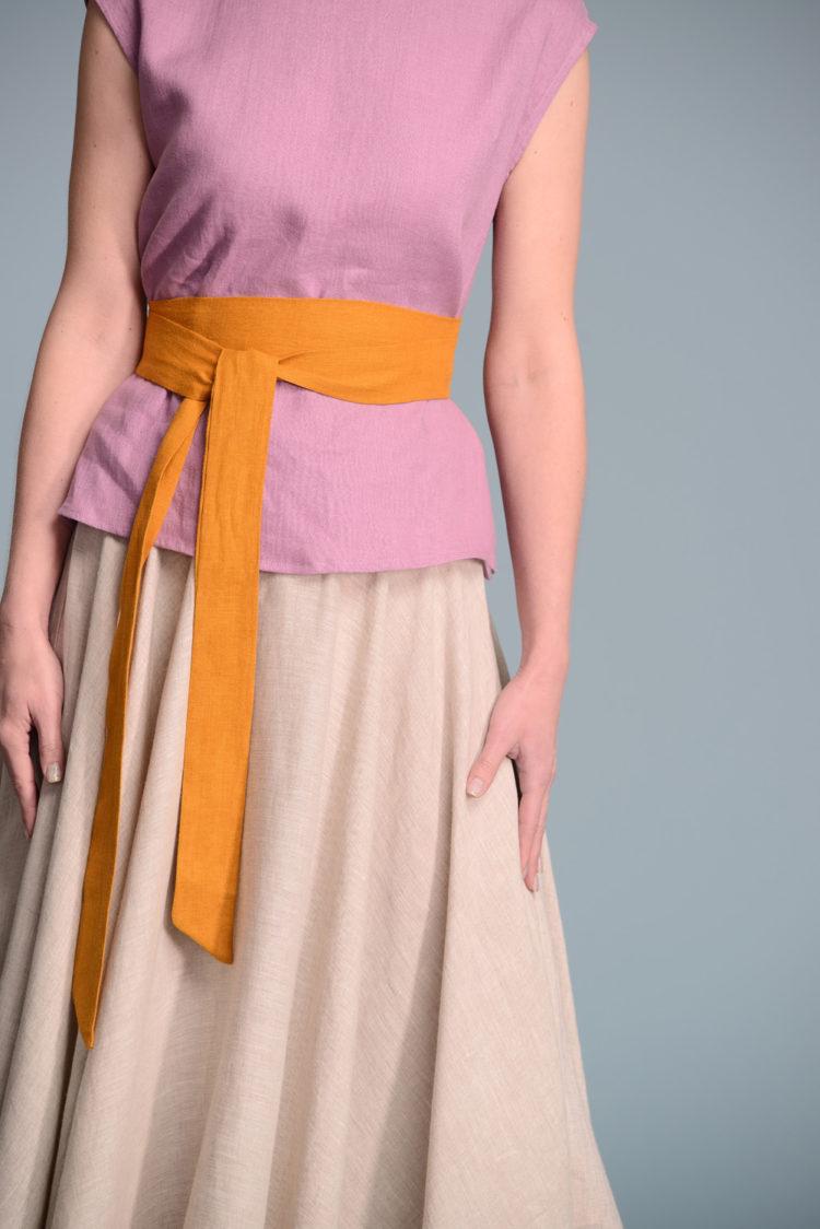 Linen Simple Belt