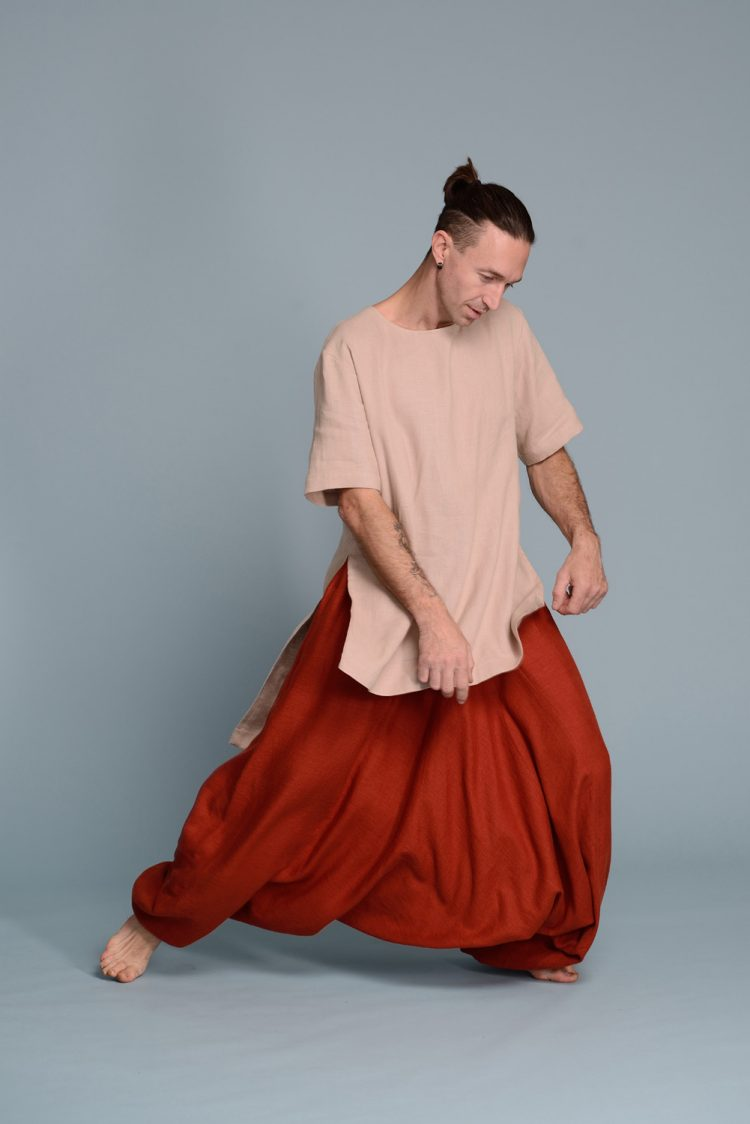Linen Baggy Harem Pants NOAH