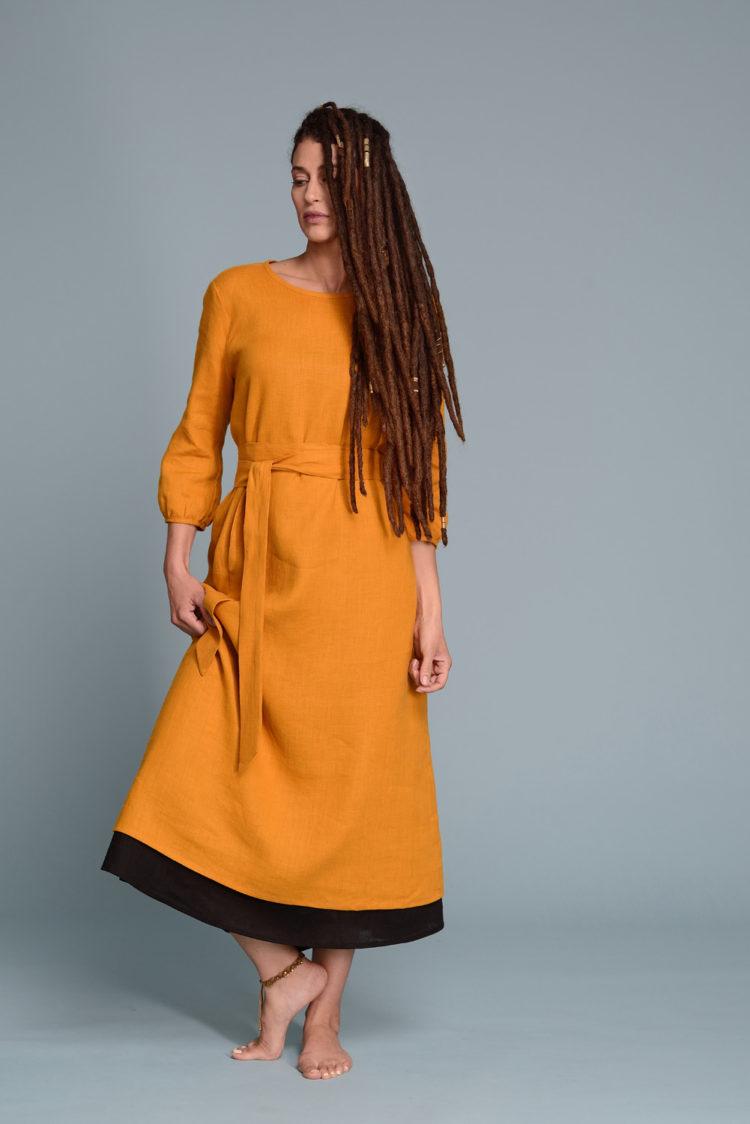 Linen Dress NIKA