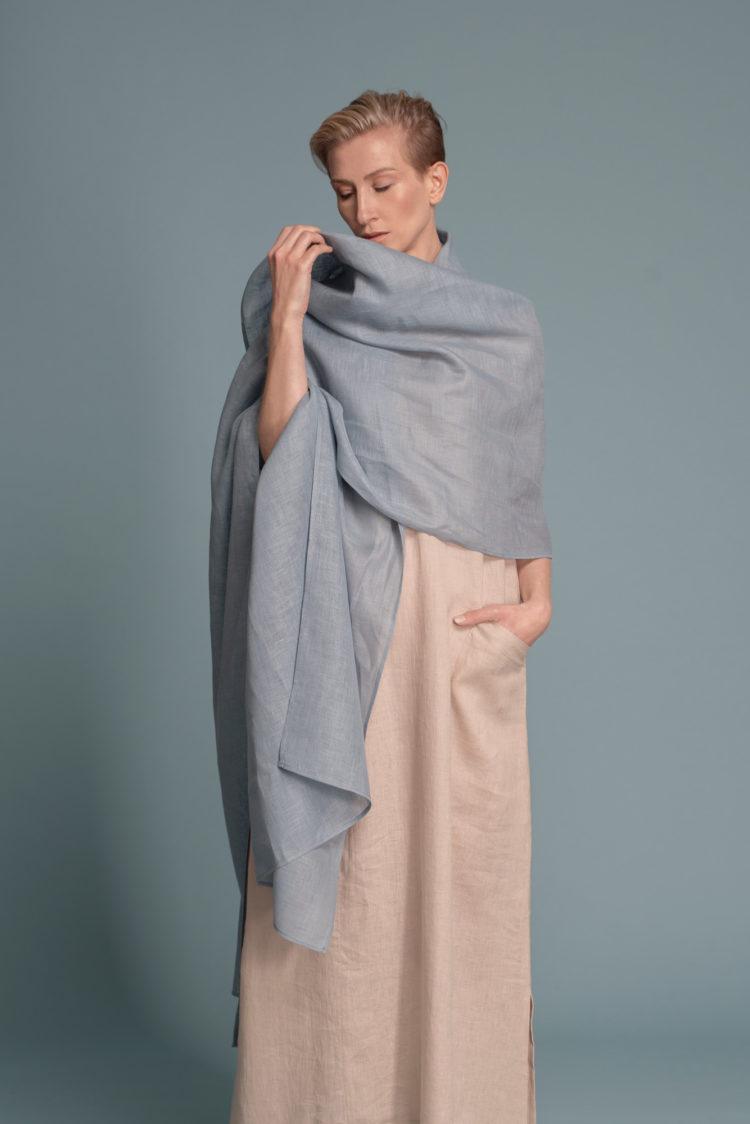 Невесомый шарф палантин