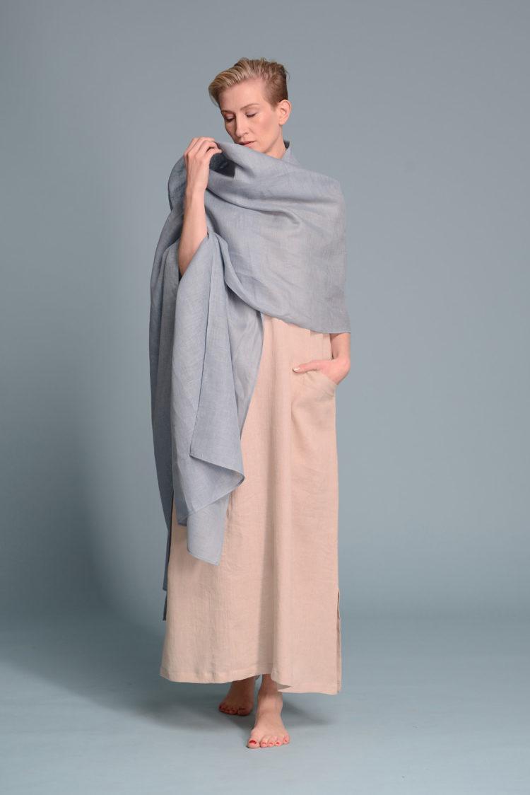 Gauze Linen Shawl Wrap