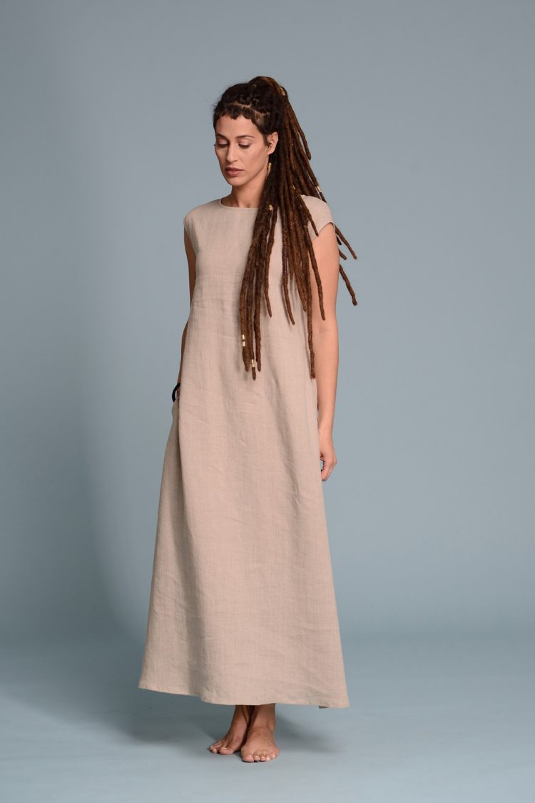 Lightweight Linen Dress LIVNA